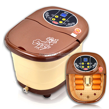 Foot bath fully-automatic heated foot massage washer bucket electric feet basin