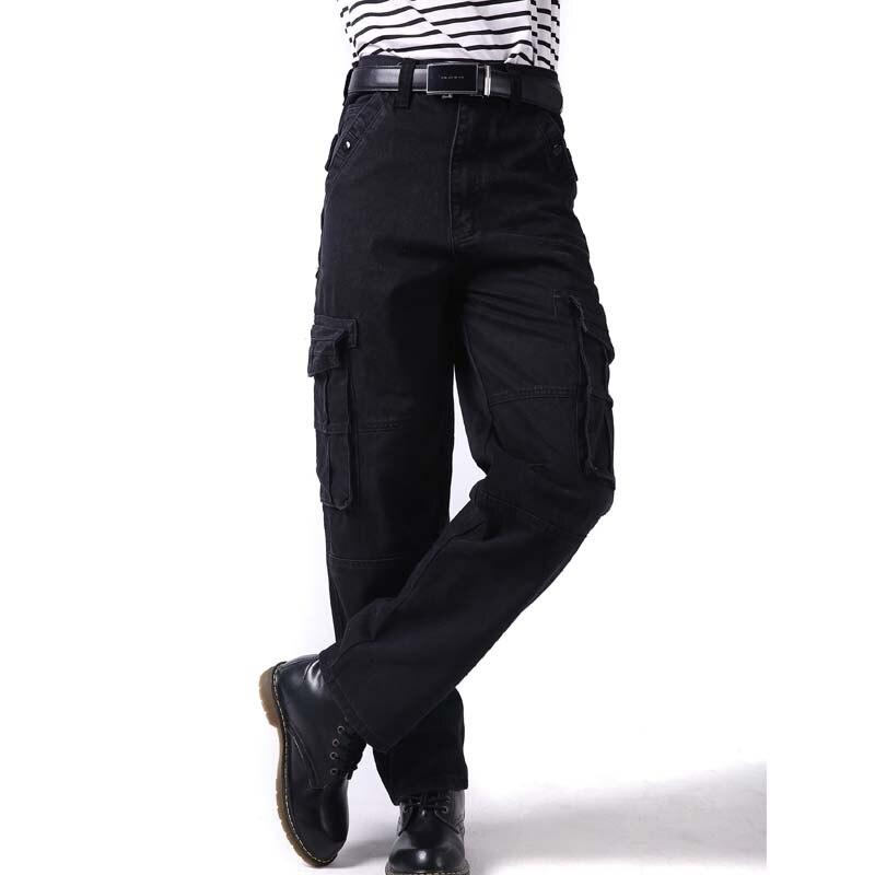 أزياء كبير حجم 46 الرجال السراويل الهيب هوب مواسم الترفيه فضفاض الرجال الهيب هوب البضائع السراويل جديد فضفاض سراويل طويلة الذكور قيعان-في السراويل بجيوب جانبية من ملابس الرجال على  مجموعة 2