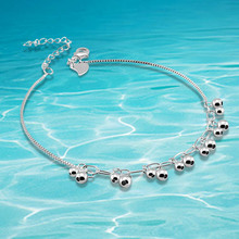 Fashion women beads anklet ,brand jewelry anklet foot jewelry leg jewelry