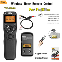 Pixel TW 283/90 Wireless Timer Remote Control For Fujifilm GFX50S X PRO2/X T2/X T1/X T20/X T10/X E2S/X E2/X M1/X A10/X A3/X A2