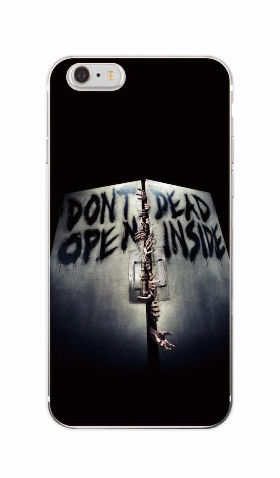The Walking Dead Daryl Dixon Wings Soft Case For Apple iPhone X 4