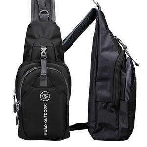 Fashion Men Anti Theft Chest Bag Shoulde