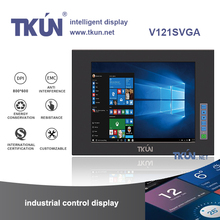 12 inch military touch display, industrial computer monitors, dustproof shockproof anti-jamming performance monitor