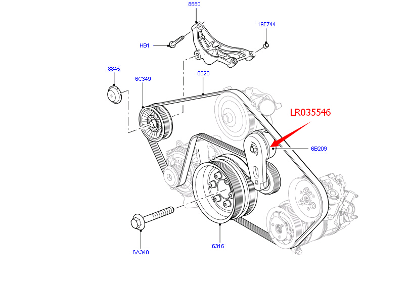 Parts & Accessories Land Rover LR4 Range Rover Sport