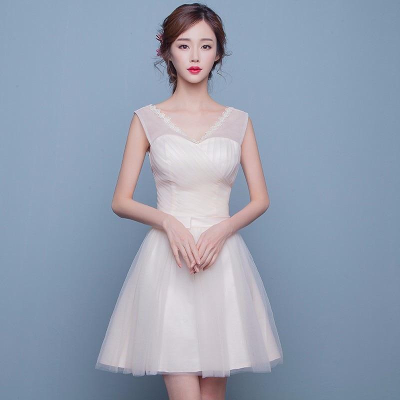 Online Get Cheap Champagne Bridesmaid Dresses -Aliexpress