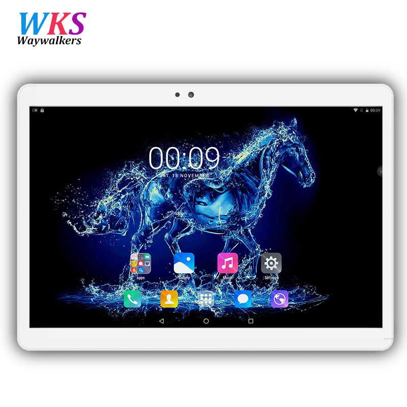 цены 10 inch tablet pc Android 7.0 octa core RAM 4GB ROM 32/64GB Dual SIM Bluetooth GPS 1920*1200 IPS tablets pcs best Christmas gift