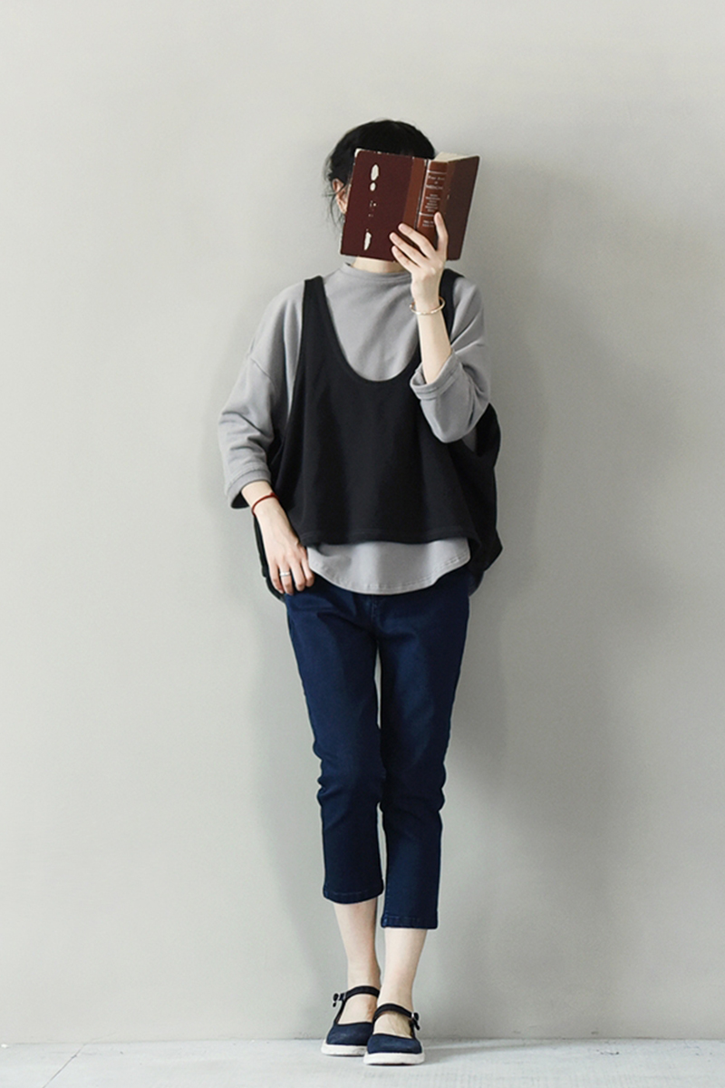 LRCP printemps automne femmes mode femmes été gilet haut sans manches chemise Blouse décontracté débardeur hauts T-Shirt