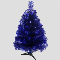 0.6m / 60cm Blue Christmas Tree New Year's Gifts Christmas home office desktop ornaments