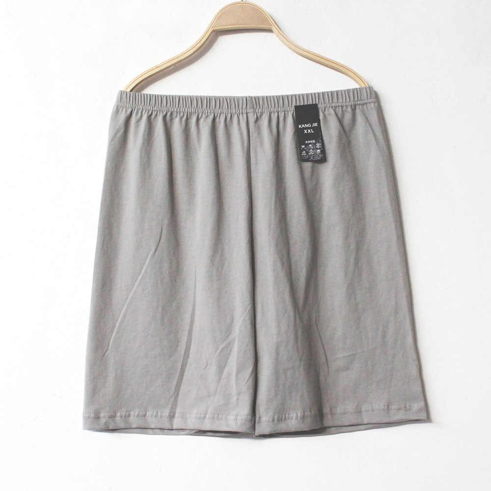 תחתוני פיג 'מה לגבר בית הלבשת שינה Bottoms גברים של כותנה מתאגרפים פיג' מה קצר מכנסיים מקרית זכר מוצק נוח