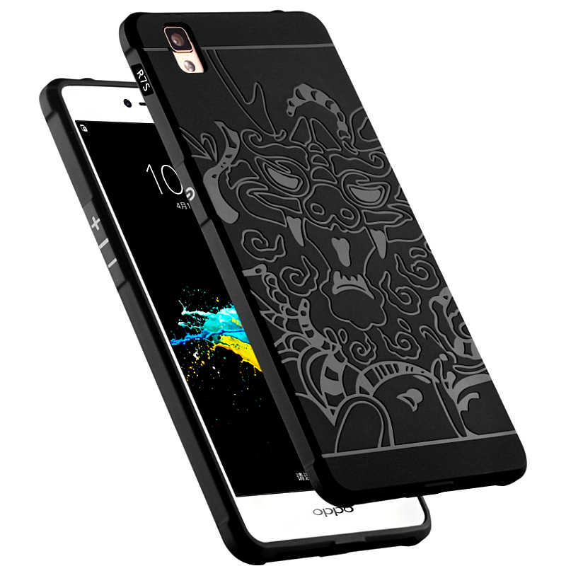 cheaper 41e2d 94e01 TPU Soft Case for Oppo R7s R7sm R7sc R7st R7sf R7sw 3D Relief Case Phone  Back Cover for OPPO R7 s Armor Silicon Protection Cases