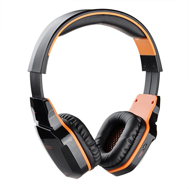 Original KOTION EACH B3505 NFC HiFi Gaming Headset Wireless Stereo Bluetooth Headphone with Mic for iPhone 7 HiFi Music Headsets