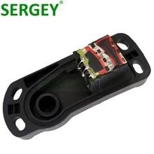 Sergey brandnew sensor de posição do acelerador 3437224037 para AU DI BEN Z w124 w126 w201 sensor tps 1 ano garantia
