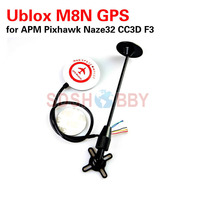 2016 NEW Mini Ublox M8N GPS For APM Pixhawk CC3D Naze32 F3