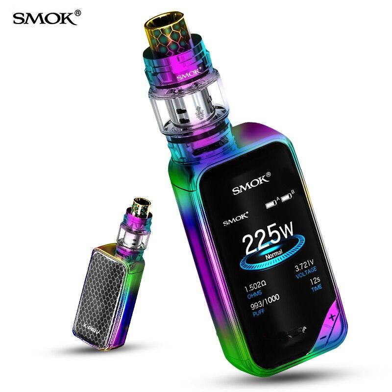Vape SMOK X-PRIV Kit E Cigarette Box Mod Electronic Cigarette TFV12 Prince Tank Vaporizer X PRIV Mod Original Mag KIT S9231