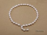 Элегантный ожерелье для женщин идеальный натуральный белый 4 10 мм пресноводный жемчуг ожерелье 56 см длинные жемчужные украшения любящий по
