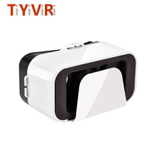 3D Glasses 360 Degree VR BOX VR 3D Glasses Helmet Google Cardboard Virtual Reality for Android Smartphones 3.5-6.6 Inch