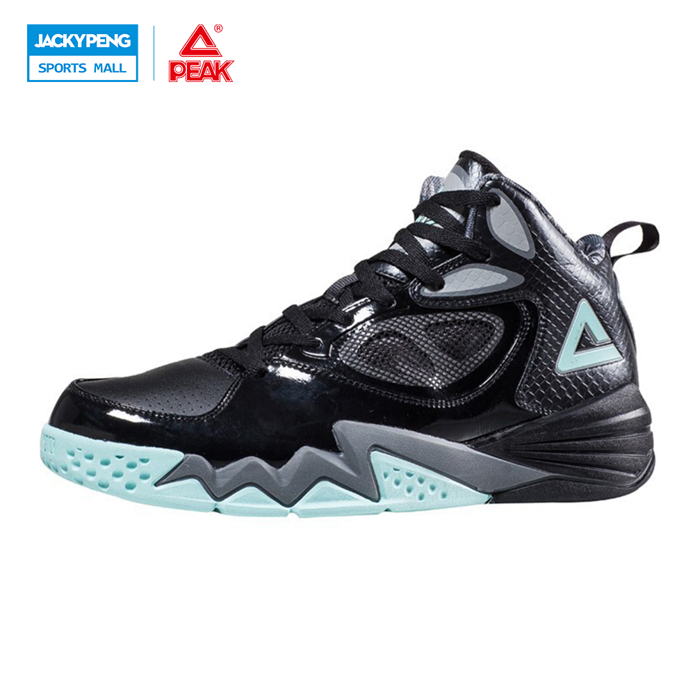 ФОТО PEAK SPORT Monster II Men Basketball Shoes Breathable Athletic Training Sneaker FOOTHOLD Tech Durable Rubber Outsole Ankle Boots