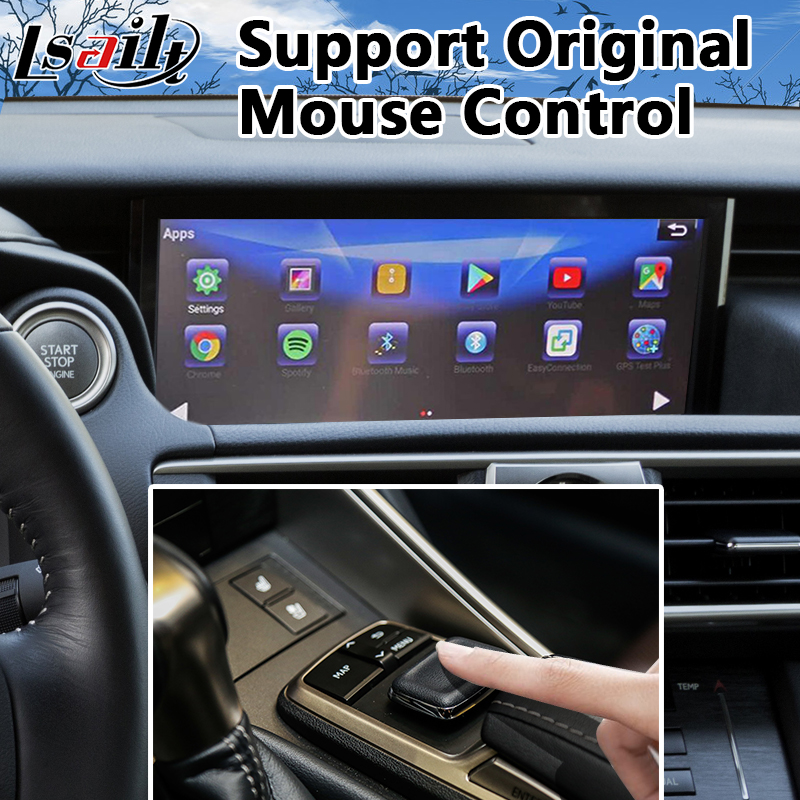 Android 6 0 Multimedia Lvds Video Interface For Lexus Is Mouse Control 2017 2018 Gps Navigation 200t 300h 350 In Vehicle From Automobiles
