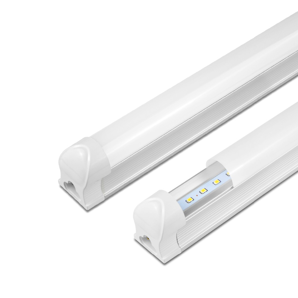 T8 LED Tube Light 8W 12W LED Tube T8 30cm 60cm 220V T8 LED Closet Fluorescent Wall Lamp For Living Room Kitchen Cabinet Lighting(China)