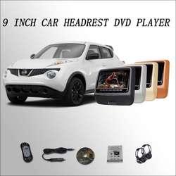 BigBigRoad dla Nissan Juke samochodu zagłówek monitora ekran cyfrowy LCD 9