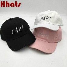 which in shower the rapper baseball hat cap hip hop snapback trucker bone embroidery PAPI dad hat women men sport male cap K pop