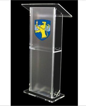 detachable cheap acrylic church lectern bureau  desk podium  stand  transparent pulpit fixture displays clear acrylic lucite podium pulpit lectern 45 tall