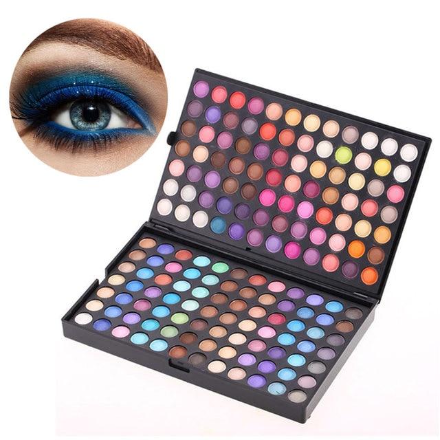 mode 252 couleurs de fard paupi res palette shimmer mat yeux maquillage beaut cosm tiques. Black Bedroom Furniture Sets. Home Design Ideas