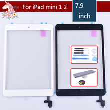 original for apple iPad mini 1 mini 2 Touch Screen Digitizer with Home Button IC Front Glass Touch Panel A1432 A1454 A1455 A1489 все цены