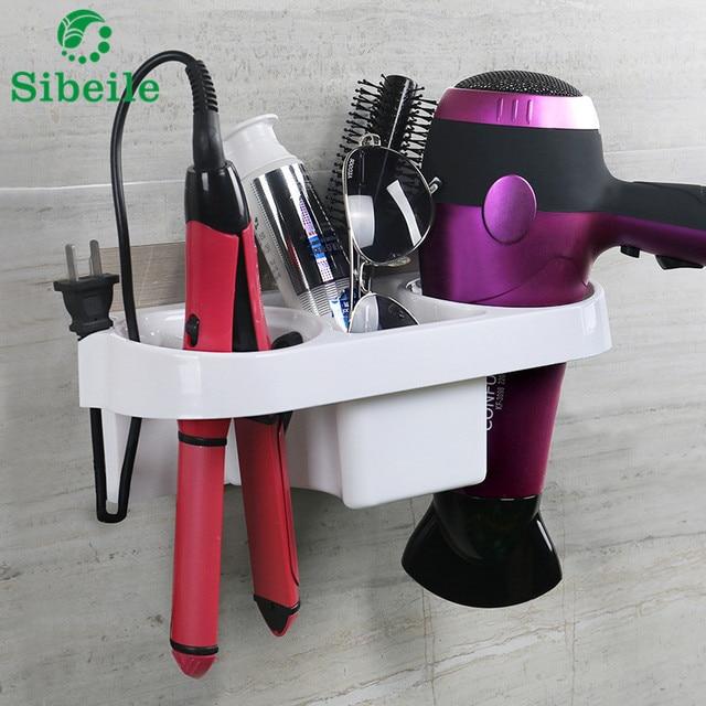 SBLE plastic opbergrek houder keuken zuig badkamer wandmontage ...