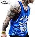 Hombres Undershirt Tank Top Hip Hop Hombre de Algodón Para Hombre Tank Tops tes de Los Hombres Chaleco Camisetas sin Mangas de Fitness Gasp Sleevess Camisas Casuales Caliente