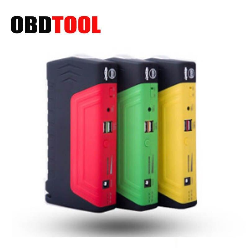 12 V 50800 mAh Urgence Batterie De Voiture Saut Démarreur Booster 600A Courant de Crête Multi-fonction Saut Banque de Puissance du Démarreur paquet de luxe