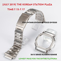 316L rvs horlogeband bezel/case DW5600 GW5000 GW-M5610 metalen band staal riem gereedschap voor mannen/vrouwen gift