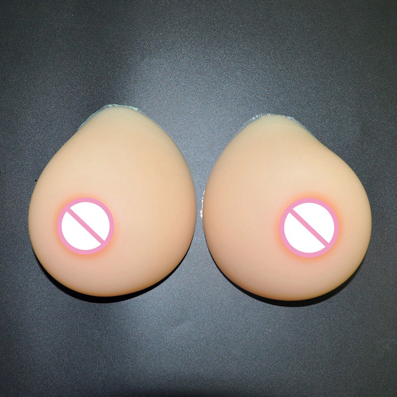 Realistic Breast Forms Silicone Breast for Crossdresser Mastectomy Silicone Boobs Prosthesis Insert Skin Color Enhancer Pad