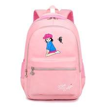 children school bags girls primary backpacks cartoon creative printing schoolbags backpack lightweight waterproof Mochila