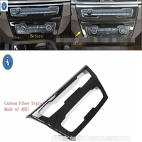 Yimaautotrims ABS Accessories Interior Central Control AC Air Conditioner Switch Panel Cover Trim 1 Pcs For BMW X2 F39 2018 2019