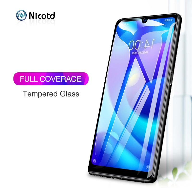 2Pcs Tempered Glass For Xiaomi Black Shark Helo Screen Protector For Redmi Note 7 6 Full Cover Protective For Xiomi Play A2 Lite