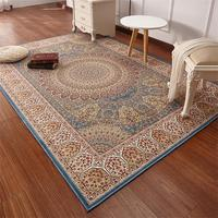 Persian Carpet Livingroom Home Decoration Rug Soft Rectangle Carpet Bedroom Vintage Sofa Coffee Table Floor Mat Study Room Rugs