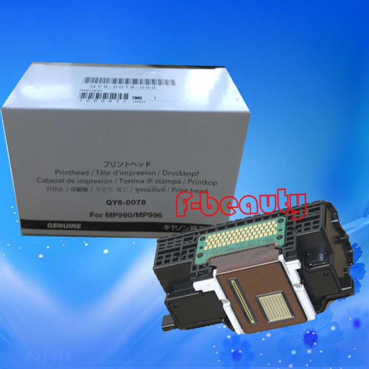 Asli Print Head QY6-0078 Printhead Untuk Canon MP990 MP996 MG6120 MG6140 MG6180 MG6280 MG8180 MG8280 MG8120 Printer Kepala