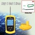 120 м беспроводной рыболокатор рыболовная приманка lcd цветной экран Sonar эхолот сигнализация рыболокатор FFCW1108-1 Lucky HT49-0065