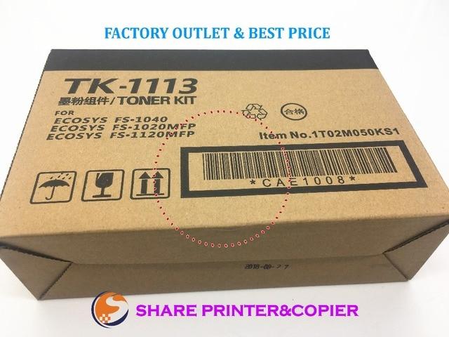 Новые совместимые картриджи с тонером TK1113 для Kyocera FS1120 fs1025 fs1040 fs1060 fs1120 fs1125Mfp