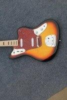 Wholesale Guitar New Cnbald F Jaguar Model Electric Guitar Top Quality In Sunurst 161127