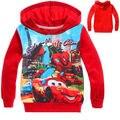 Los niños de los bebés Spiderman jersey sudadera ropa 2-8Y