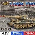 ET RC Tank Fighting tiger tank con fort rotar Remoto Por Infrarrojos Pista de Control RC Tanque de Batalla Cañones y Emmagee 801 802 803 804
