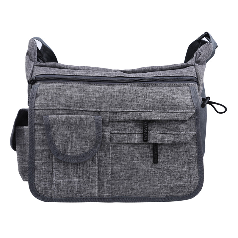 2019 Dark Gray New Korean Version Of The Matte Men'S Messenger Bag Simple Shoulder Bag Men'S Fashion Waterproof  Hot SaleHandbag