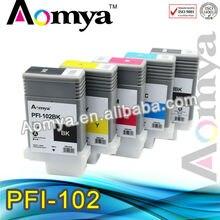 Pfi 102 6C Volle PFI-102 pfi 102 patronen für Canon Drucker iPF500/510 iPF600/605/610 iPF700/710/720/760 iPF650/655 iPF750/755