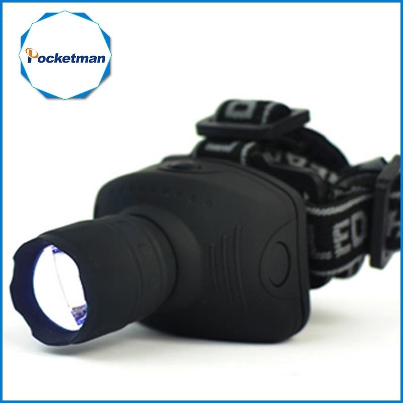 1800Lumen Headlamp LED Headlight Flashlight Frontal Lantern Zoomable Head Torch Light Bike Riding Lamp For Camping Hunting flashlight
