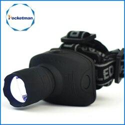 1800 lumen farol led lanterna frontal cabeça zoomable tocha luz bicicleta equitação lâmpada para a caça de acampamento