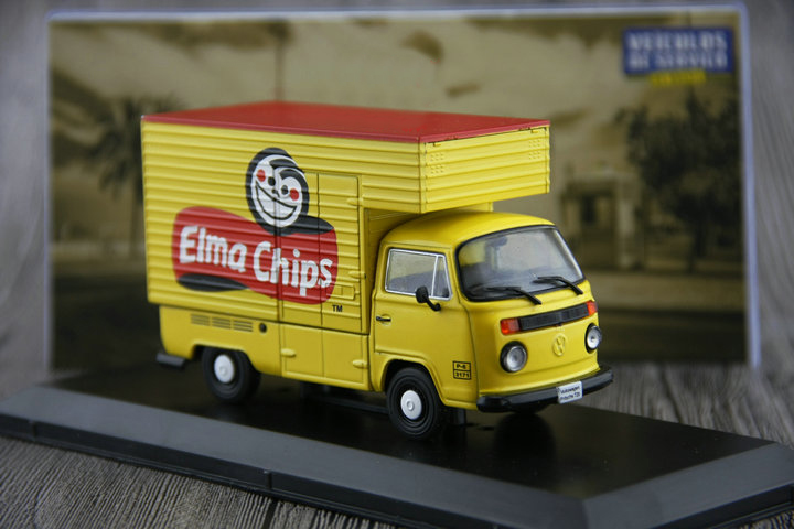 ФОТО new Fine Special offer IXO OEM 1:43 Classic T2 b 1990 Van Truck Alloy car model Collection model Holiday gifts