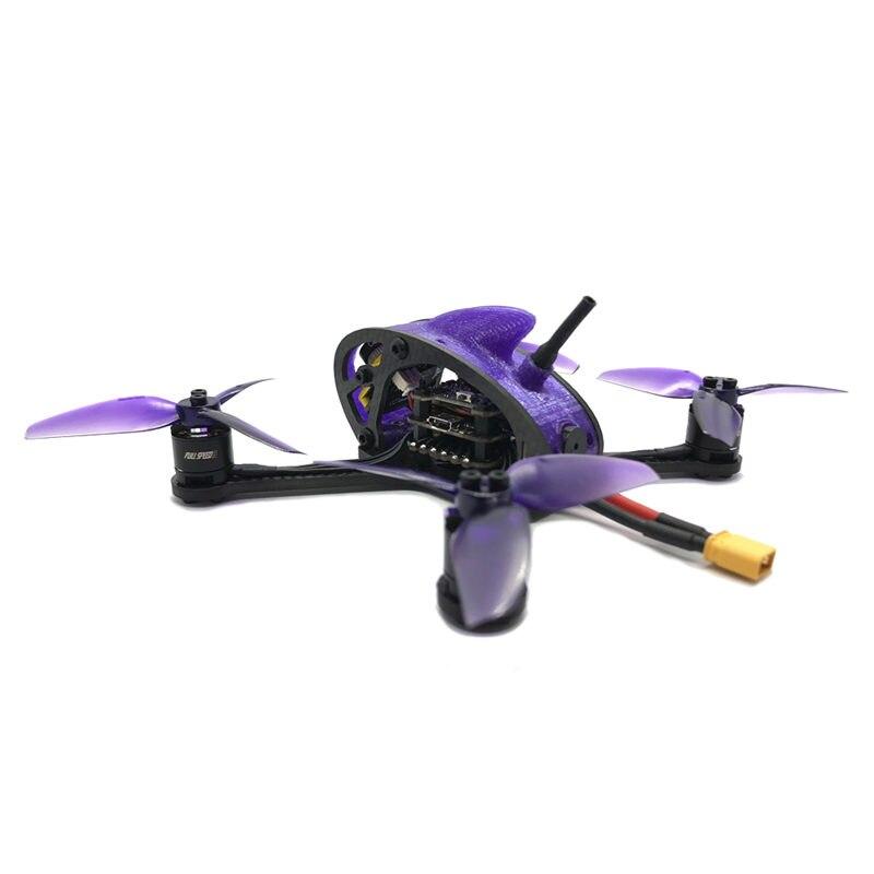 Drone de course à grande vitesse 3SE 130mm FPV PNP F411 28A BLHELI_S 25/100/200/400/600 mW VTX RC quadrirotor Racer hélicoptère-in Pièces et accessoires from Jeux et loisirs    3