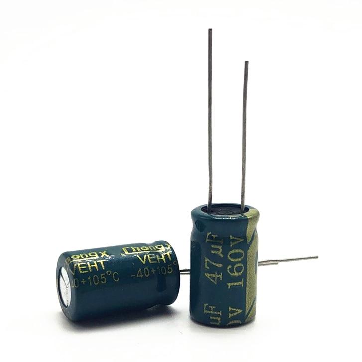 10pcs/lot 160V 47UF 10*17 20% RADIAL Aluminum Electrolytic Capacitor 47000nf 20%